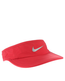 Nike Perfromance Run Visor Red