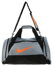 Nike Performance Brasalia 6 Medium Duffel Bag Grey