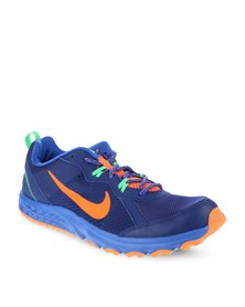 Nike Performance Wild Trail Running Shoes Blue