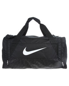 Nike Performance Brasilia 6 Medium Duffel Bag Black