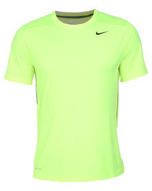 Nike Performance Legacy SS Top Green