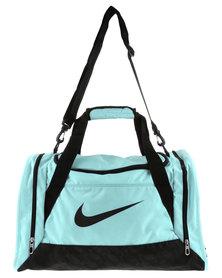 Nike Performance Brasilia 6 Duffel Bag S Aqua