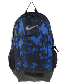 Nike Performance Team Training Max Air Graphic Backpack Blue