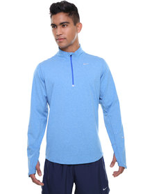 Nike Performance Element 1/2 Zip Sweater Blue