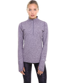 Nike Performance Elemant 1/2 Zip Top Purple