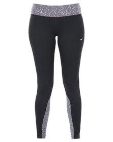 Nike Performance DF Run Tight Black