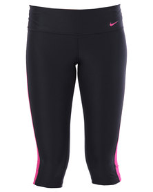 Nike Performance Advantage Tight Poly Capris Black
