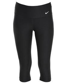 Nike Performance Advantage TI  Poly Capri Black