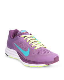 Nike Performance Zoom Structure +17 Running Shoes Purple