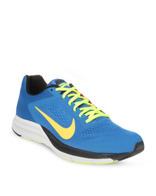 Nike Performance Zoom Structure + 17 Running Shoes Blue
