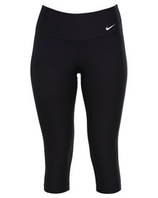 Nike Performance Advantage TI Poly Capri Pants Black