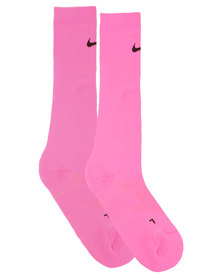 Nike Performance Elite High Intensity Training Knee-High Socks Pink