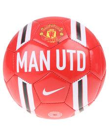 Nike Performance Man United Skills FA14 Soccer Ball Red