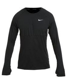 Nike Performance Dri-FIT Racer Long Sleeve Black