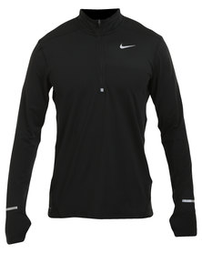Nike Performance Dri-FIT Element Half-Zip Black