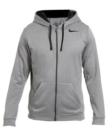 Nike Performance Knockout Full-Zip Hoodie 3.0 Grey
