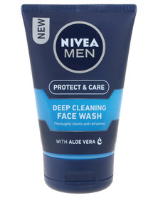 Nivea For Men Deep Clean Face Wash 100ml