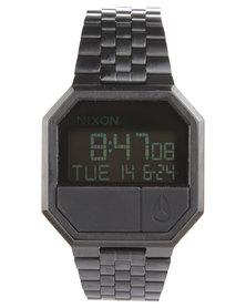 Nixon Re-Run Digital Watch Black
