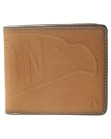 Nixon Graven BI-Fold Wallet Tan