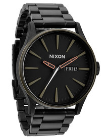 Nixon Sentry SS Watch Black