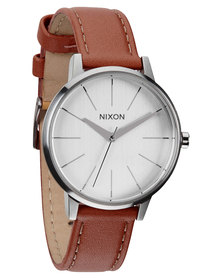 Nixon Kensington Leather Watch Tan
