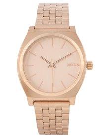 Nixon Time Teller Watch Rose Gold