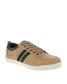 North Star Mens Lace Up Bream Sneaker Brown