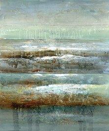 Abstract Tidal 1 Canvas Print