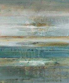 Abstract Tidal 11 Canvas Print