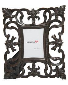 NovelOnline Scroll Baroque Photo Frame Bronze