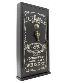 NovelOnline Jack Daniels Wooden Key Box Black