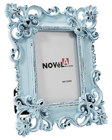 NovelOnline Wula Ornate Mini Photo Frame Blue