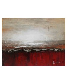 NovelOnline Abstract Eclipse Canvas 1 Red