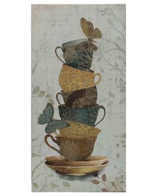 NovelOnline Canvas Exotic Cups 1 Multi-Coloured