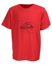 O'Neill Boys Beached Buggy T-Shirt Red