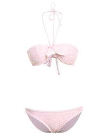 O'Neill Vice Versa Reversible Bikini Pink