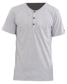 O'Neill Jacks Henley T-Shirt Grey