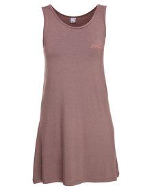 O'Neill Vest Dress Mocha