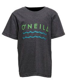 O'Neill Boys Waves T-Shirt Charcoal