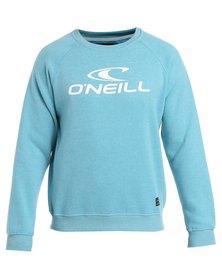 O'Neill Logo Crew Pullover Sweatshirt Blue