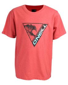 O'Neill Boys Throwback T-Shirt Red