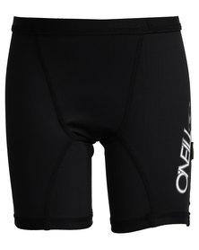 O'Neill Youth Skin Surf Swim Shorts Black