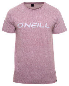 O'Neill Ink Logo T-Shirt Red