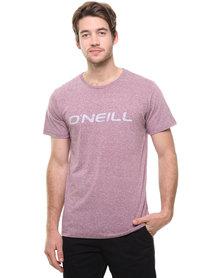 O'Neill Ink Logo T-Shirt Red