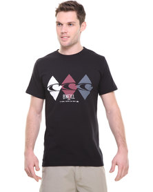 O'Neill Hour Glass T-shirt Black