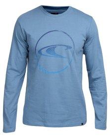 O'Neill Circular Long Sleeve T-Shirt Blue