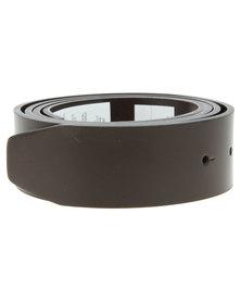 Oakley Leather Belt Strap Brown