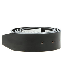 Oakley Leather Belt Strap Black