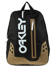 Oakley Front Zip Detail Backpack Black