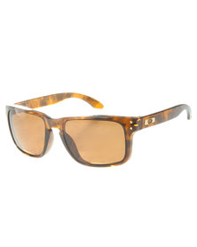 Oakley Holbrook Wayfarer Sunglasses Brown